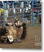 Rodeo Crunch Time Metal Print