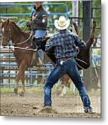 Rodeo Easy Does It Metal Print