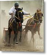 Rodeo Eat My Dust 1 Metal Print