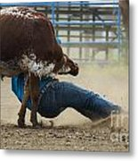 Rodeo Getting Down Metal Print