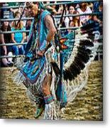 Rodeo Indian Dance Metal Print
