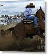 Rodeo Ladies Barrel Race 1 Metal Print