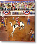 Rodeo One Metal Print