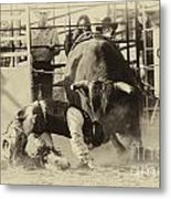 Rodeo Prepared To Be Punished Metal Print