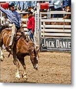 Rodeo Ride Metal Print