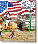 Rodeo Metal Print by Terry Cotton