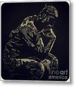 Rodin Metal Print