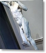 Rodin's The Vanguished -- 2 Metal Print
