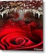 Roes Among Thorns Metal Print