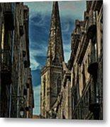 Cathedrale Saint-vincent-de-saragosse De Saint-malo Metal Print
