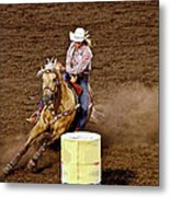 Roll Out The Barrel Metal Print