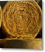 Rolled Hay   #1074 Metal Print