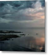Rolling By Like Thunder Metal Print