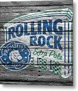 Rolling Rock Metal Print
