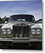 Rolls Royce Corniche 1980 Metal Print