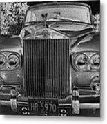 Rolls Royce Grill Metal Print