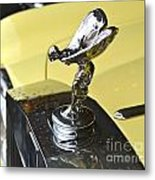 Rolls Royce Hood Ornament Metal Print