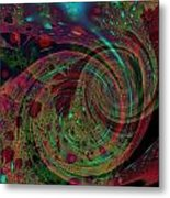 Roly Poly Metal Print by Mike Turner