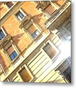 Roma Windows Metal Print