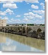 Roman Bridge Of Cordoba Metal Print