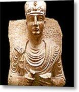 Roman Bust # 1 Metal Print