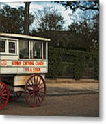Roman Candy Wagon New Orleans Metal Print