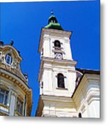 Roman Catholic Cathedral-sibiu Metal Print