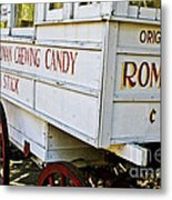 Roman Chewing Candy Metal Print
