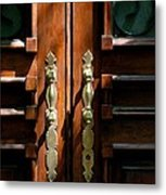 Roman Doors Metal Print