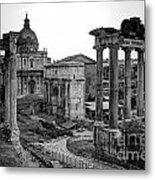 Roman Forum At Sunrise Metal Print