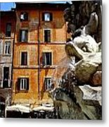 Roman Fountain  Metal Print