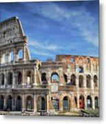 Roman Icon Metal Print