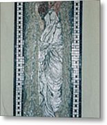 Roman Lady Metal Print by Pj Flagg Tongue in Chic