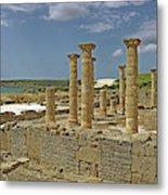 Roman Ruins Of Baelo Claudia Metal Print