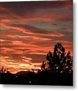 Roman Sunset Metal Print