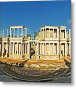 roman theatre in Merida Metal Print