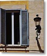 Roman Window Metal Print