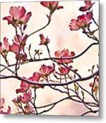 Romance Flora Metal Print