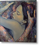 Romance With A Chimera Metal Print by Dorina  Costras