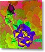 Romancing The Rose Metal Print