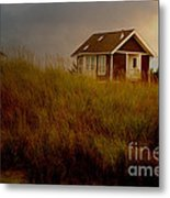 Romantic Beach Getaway Metal Print by Beverly Guilliams