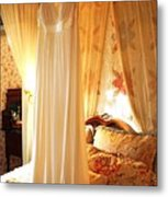 Romantic Bedroom Metal Print