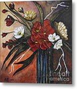Romantic Bouquet Metal Print by Elena  Constantinescu