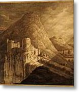 Romantic Castle Metal Print
