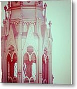 Romantic Cathedral Architectural Details Photograph Metal Print