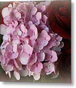 Romantic Floral Fantasy Bouquet Metal Print