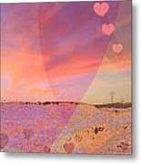Romantic Sunset Metal Print by Augusta Stylianou