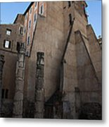 Rome - Centuries Of History And Architecture  Metal Print by Georgia Mizuleva