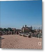 Rome From Above Metal Print
