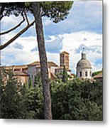 Rome Italy Cityscape Metal Print